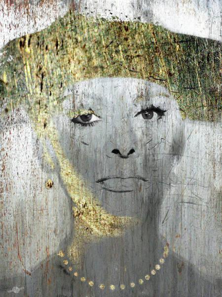 Mixed Media - Silver Screen Sophia Loren by Tony Rubino