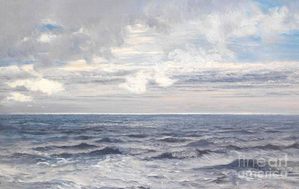 Maritime Painting - Silver Sea by Henry Moore
