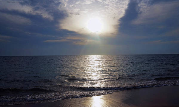 Photograph - Silver Sunset by Pamela Walton
