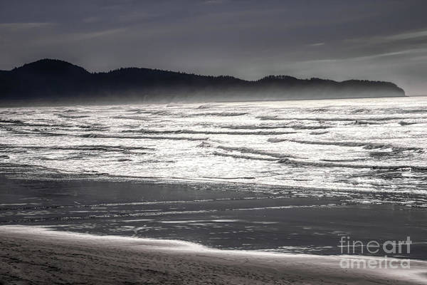 Photograph - Silver Waves by Jon Burch Photography