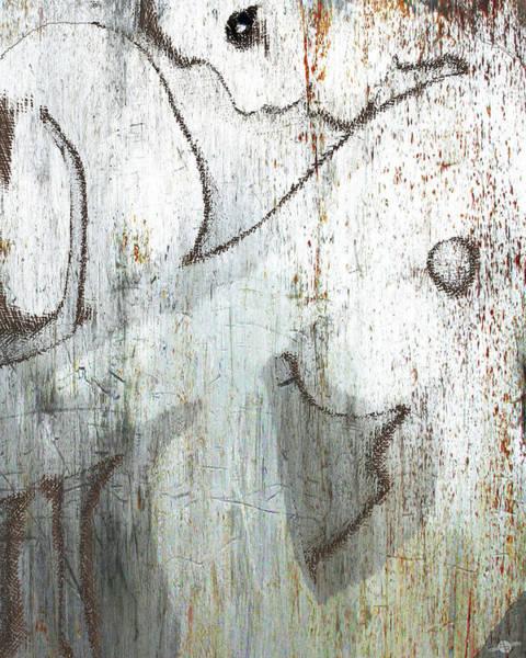 Mixed Media - Silver Woman by Tony Rubino