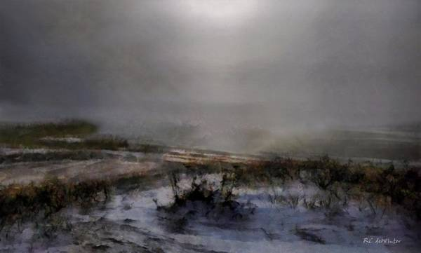 Painting - Silvered Shore by RC DeWinter