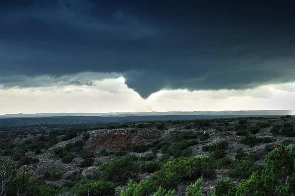Photograph - Silverton Texas Tornado Forms by James Menzies