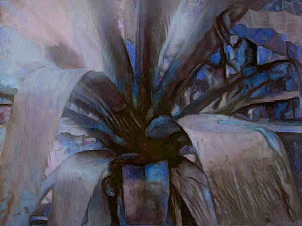 Digital Art - Silvery Night by Richard Laeton