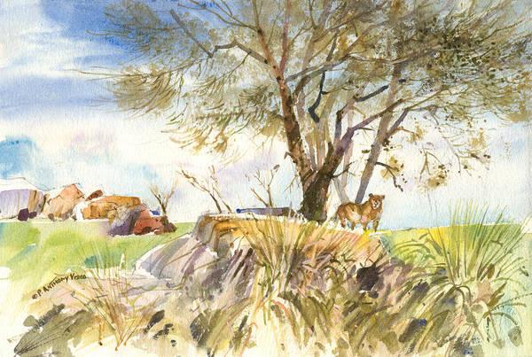 Painting - Simba Land by P Anthony Visco