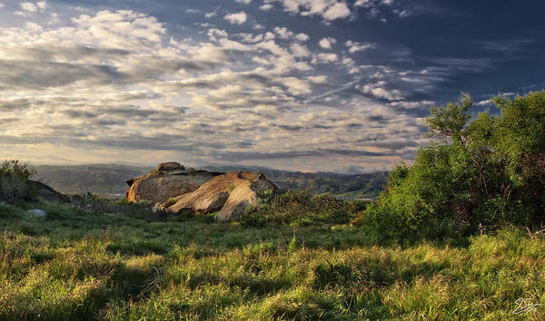 Photograph - Simi Valley Overlook by Endre Balogh