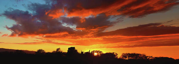Photograph - Simi Valley Sunset Panorama by Lynn Bauer