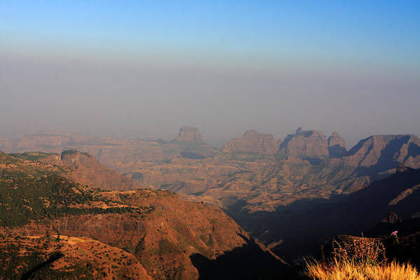 Photograph - Simien Mountains At Sunset, Ethiopia by Aidan Moran