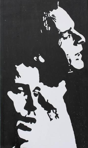 Simon And Garfunkel Painting - Simon And Garfunkel by Ralph LeCompte