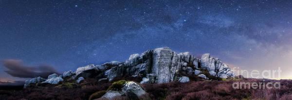 Photograph - Simon's Seat At Night by Mariusz Talarek