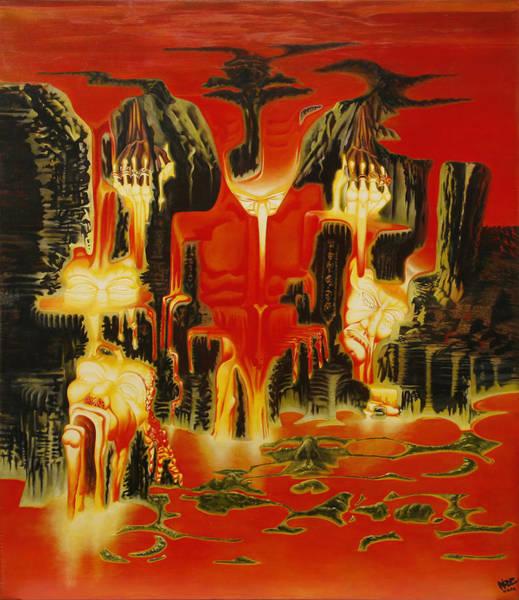Cascade Painting - Simpathy For The Devil by Horacio Cardozo