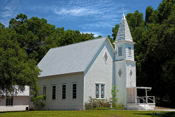 Photograph - Simple Country Church by Christopher Holmes