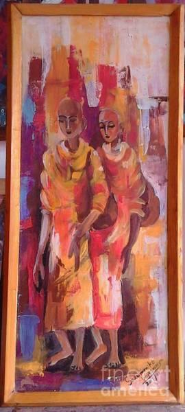 Wall Art - Painting - Simple Life,s by Sudumenike Wijesooriya