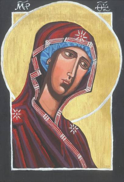 Painting - Simple Mary by Kelly Latimore