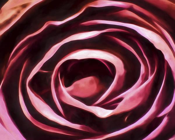 Simple Rose Art Print