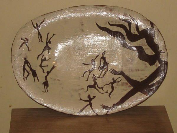 Ceramic Art - Simply Dance by Gloria Ssali