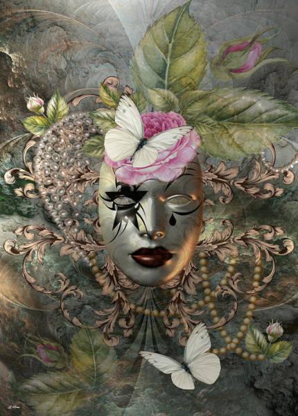Joyous Mixed Media - Simply Elegant  by G Berry