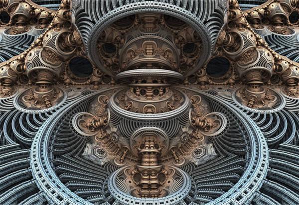 Simply Symmetrical Art Print