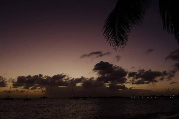 St. Maarten Photograph - Simpson Bay Purple Sunset Saint Martin Caribbean by Toby McGuire