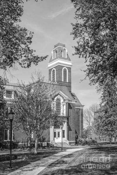 Photograph - Simpson College College Hall Vertical by University Icons