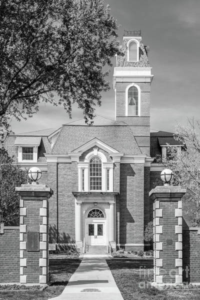 Photograph - Simpson College Gate With College Hall by University Icons