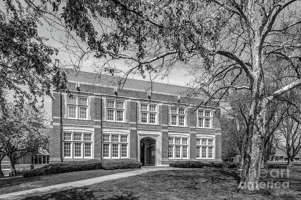 Photograph - Simpson College Hillman Hall Side by University Icons