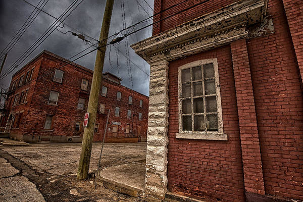 Abandonment Wall Art - Photograph - Simpson Street Back Alley II by Jakub Sisak