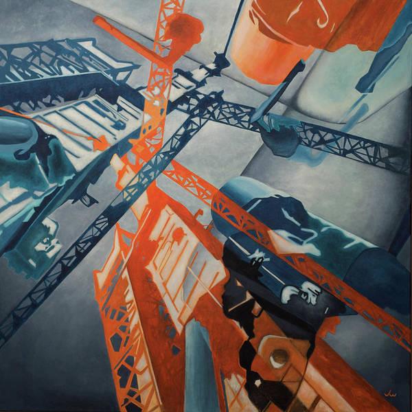Similar Painting - Simulacrum by Joseph Wimberly