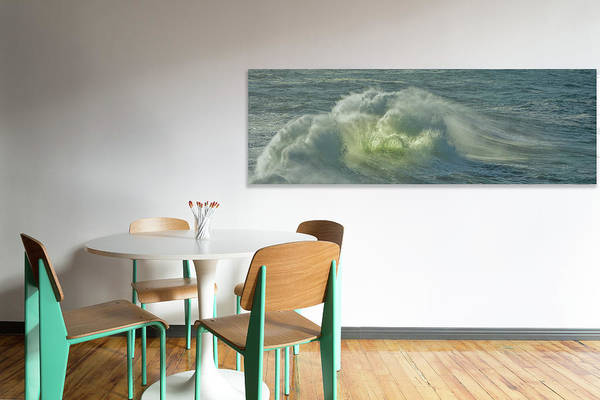Photograph - Simulated Room Ocean by Bill Posner