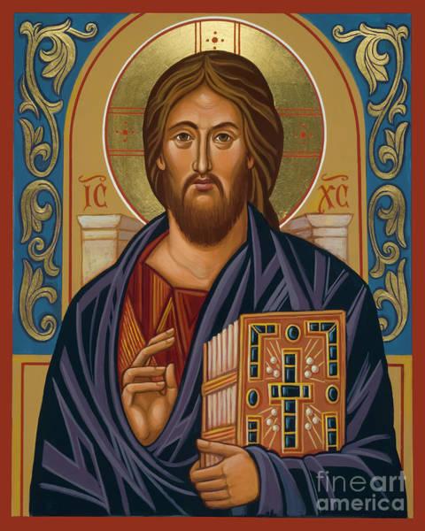 Painting - Sinai Christ - Jcsin by Joan Cole