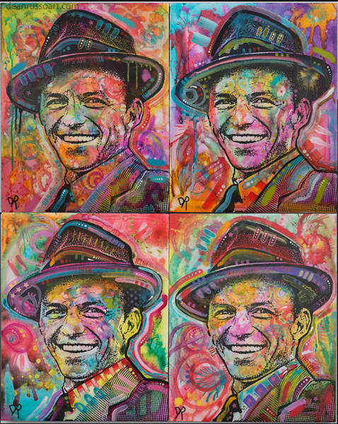 Wall Art - Painting - Sinatra by Dean Russo Art
