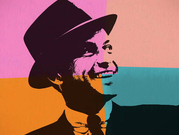 Smile Mixed Media - Sinatra Pop Art by Dan Sproul