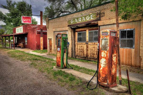 Photograph - Sinclair Garage by Ryan Smith