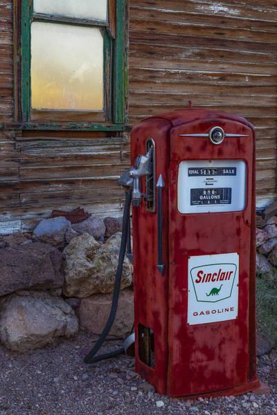 Photograph - Sinclair Gas Pump by Susan Candelario