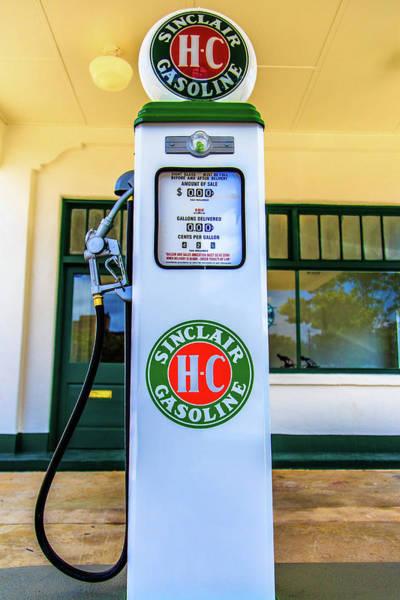 Photograph - Sinclair Gasoline Gas Pump Front View by Doug Camara