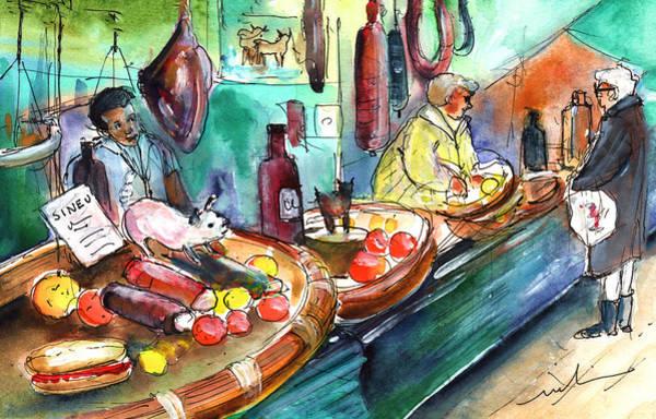 Painting - Sineu Market In Majorca 07 by Miki De Goodaboom