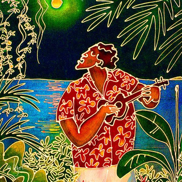 Sing Hanalei Moon Art Print