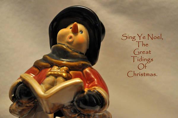 Carol Singing Photograph - Sing Ye Noel by Teresa Blanton