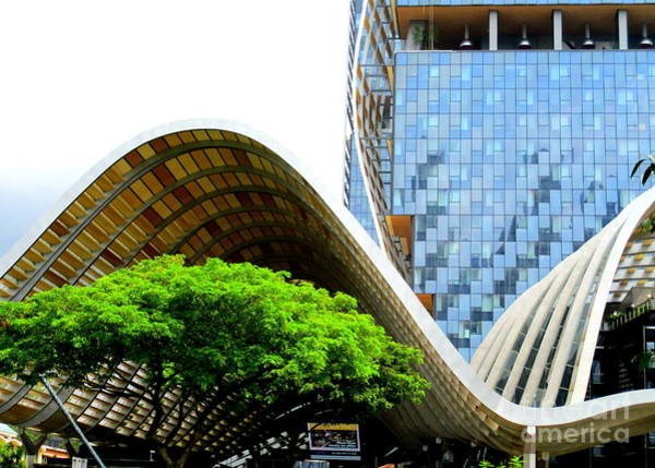 Wall Art - Photograph - Singapore Architecture 17 by Randall Weidner