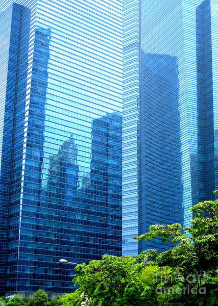 Wall Art - Photograph - Singapore Architecture 6 by Randall Weidner