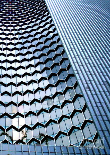 Wall Art - Photograph - Singapore Architecture 7 by Randall Weidner