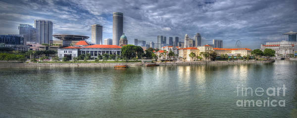 Photograph - Singapore By Day by Hans Janssen