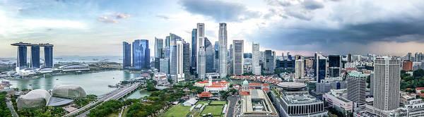Photograph - Singapore Cityscape by Chris Cousins