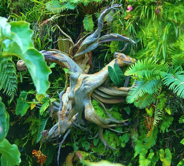 Photograph - Singapore Cloud Forrest 7 by Phyllis Spoor