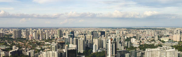 Photograph - Singapore In Panaroma by Andrew Kow