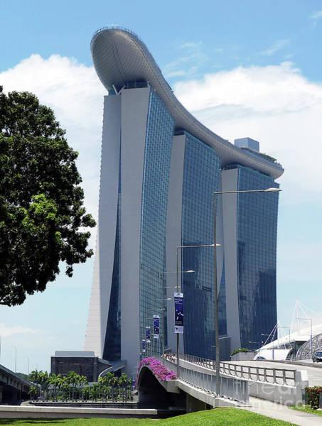 Photograph - Singapore Landmark by PJ Boylan