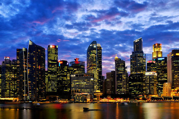 Photograph - Singapore Skyline by Fabrizio Troiani