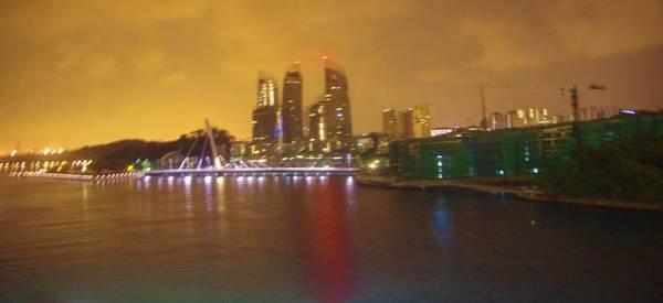 Photograph - Singapore Sunrise 2 by Phyllis Spoor