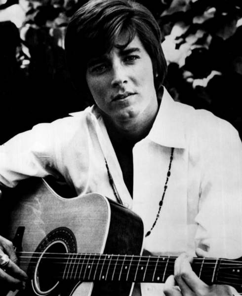 Sherman Photograph - Singer Bobby Sherman 1969 by Mountain Dreams