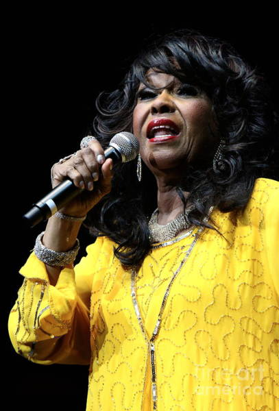 Download Photograph - Singer Shirley Alston Reeves  by Concert Photos